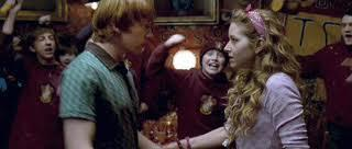 What was the name of the Hogwarts student who was Ron Weasley s unexpected first love interest in Harry Potter and the Half Blood Prince?
