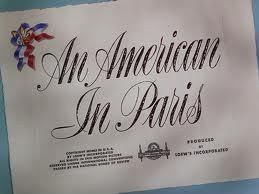 Which famous star plays the main role in 'An American In Paris' film?