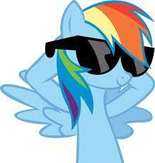Who's the most cool pony?
