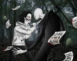 You and Jeff walk into slender woods and your hear something in the bushes and trees. What would you say to Jeff?