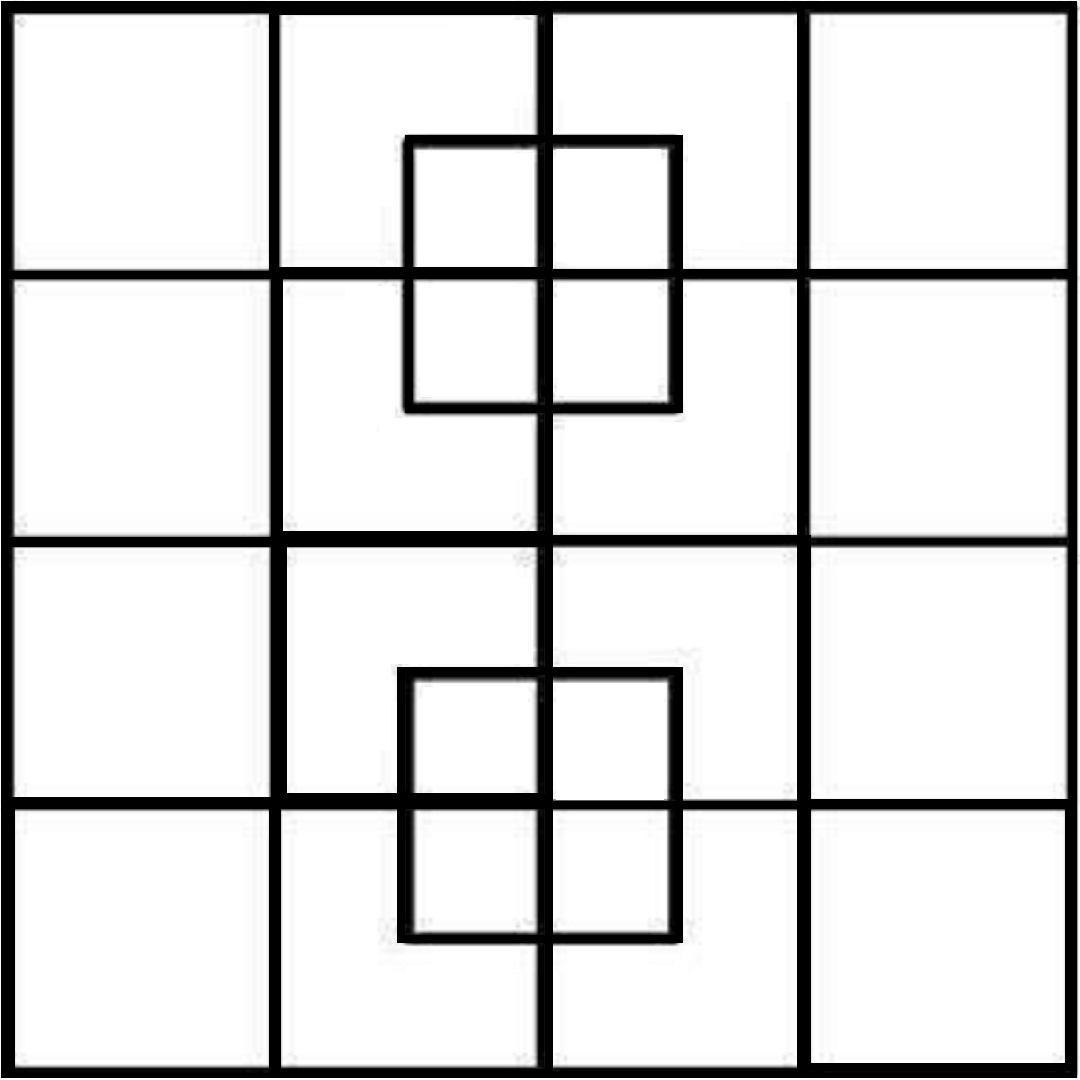 How many squares did you count?