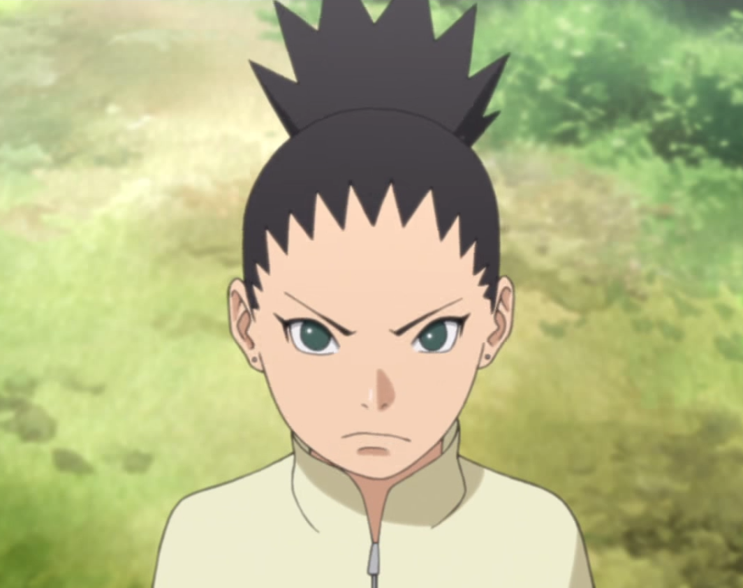 What is the name of Shikamaru's child?