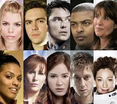 Which companions has Matt (as the Doctor) traveled with?