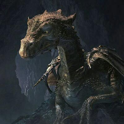 What is the name of the Great Dragon that was kept in the vaults for many years?