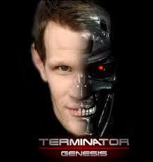 Who has Matt been cast to play as in the (as of today) newest Terminator movie?