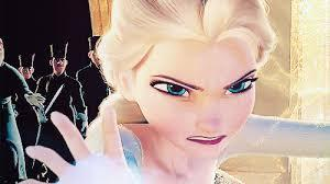 Elsa : If you're angry with someone, what will you do?