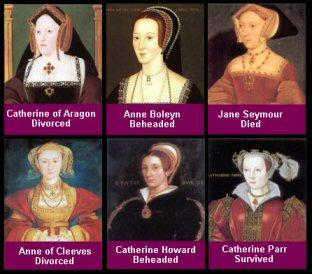 which 2  of  Henry VIII wifes where beheaded?