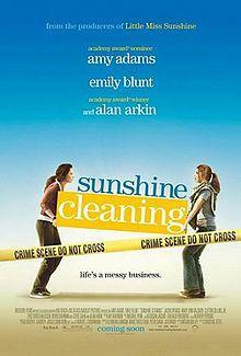 "In ""Cleanning Sunshine"", how does Emily Blunt's character loose their job ?"