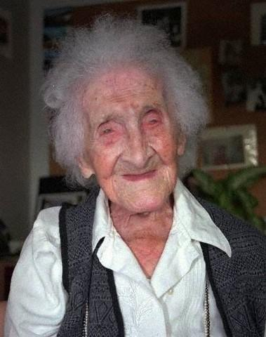 How old was the oldest person ever when she died?