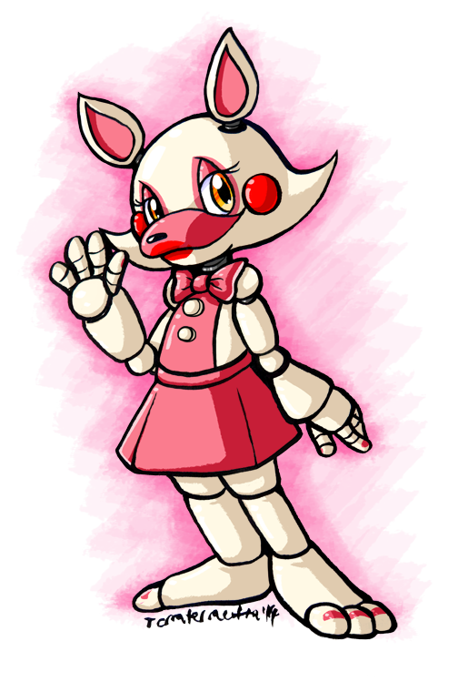 hey guys it's roxy the fox here, so you want to know which female character you are huh? well first off what is your fave color (btw that's me, i'm mangle's twin sister okay?)