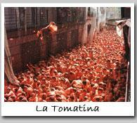 What are some of the rules of La tomatina?