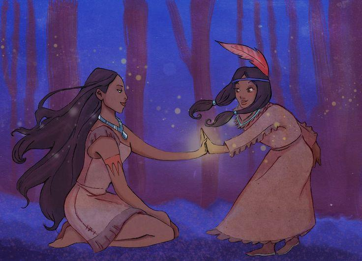 Who was the first native American princess in a Disney movie?