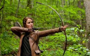 What is Katniss' hobbie?