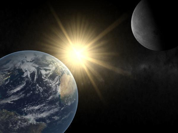 Is the Moon larger or smaller than Earth?