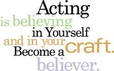 How often have people been fooled by your acting skills?