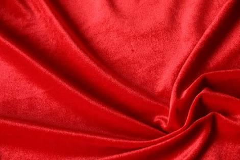 Velvet is the colour red