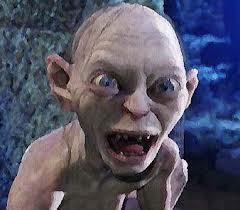 What does Gollum call the ring?