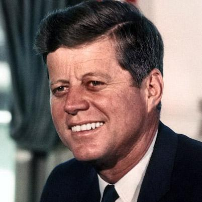 Kennedy is this nation's ___ president.