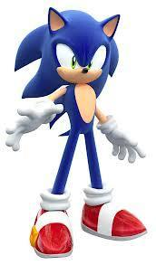 "The blur stopped and turned around, a hand held out. ""Oh, sorry, didn't see you there. I'm Sonic, by the way."""