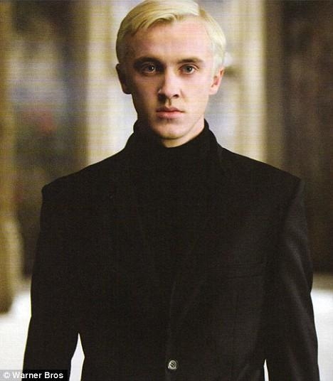 Who plays Draco Malfoy in the movie Harry Potter?