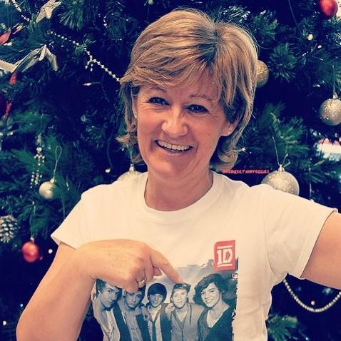What is niall's mums name?