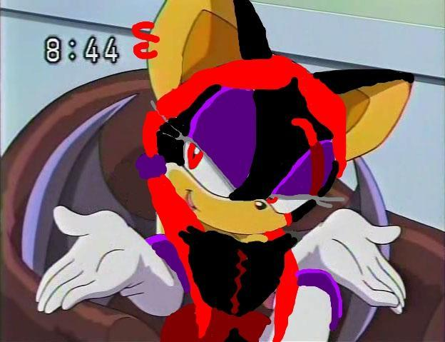 "I started running as the three of us stopped at the outskirts of the city. ""I lost her scent."" I started whimpering as Eggman's ship appeared above our heads. ""No Eggman got you to!"" Alexis screamed.... later stopping here."