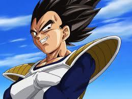 Me:ok thanks for your question goku :) Up next vegeta  Vegeta:....whatever....do you know how to fight?