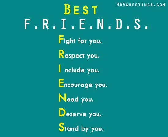 Who's you're best friend?