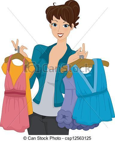 Shopping for clothes or accesories