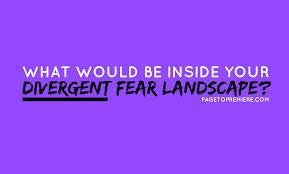 The third and final stage is the Fear Landscape. It takes all of a person's fears, and creates a series of obstacles from those fears. What are the 2 ways you can choose to use to move on?