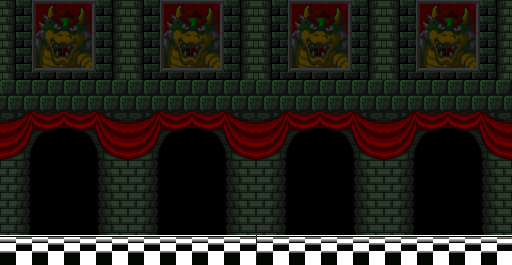 Would you enter Bowser's Castle and save the Princess?