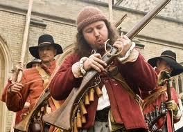 Which of these weapons where not used in the English Civil War except for the odd idiosyncratic appearance?