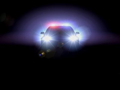 You are in a car when someone behind you starts to turn their high beams on.  It's on a deserted road with no one around and you are a mile away from home.  You...