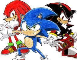 "Tails smiles. ""Hey, who wants to show her around? 'Cuz if no one else wants to, I can."" Knuckles, Shadow, Sonic, Scourge, and Silver all stand up and shout, ""I WILL!"" Then they all glare at each other. ""Hmm."" Tails turns to you. ""Guess it's up to you. Who do you want to show you around?"""