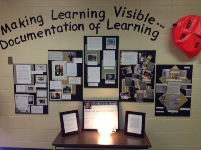 The image provided is a representation of pedagogical documentation.