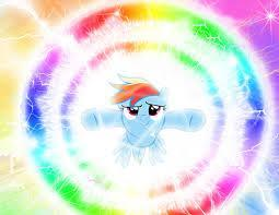 Can rainbow dash do a double rainbow