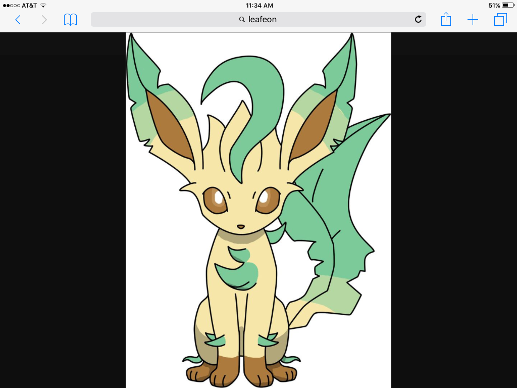 catgiraffe: Leafeon...  Leafeon:... O-okay, do you like nature?