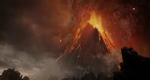 What is the volcano called that Frodo must cast the ring into?