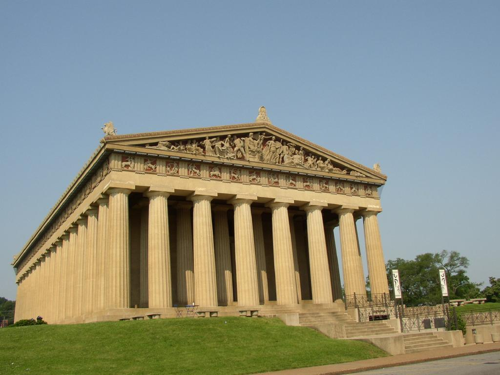 Which is the name of the following Greek temple (considered one of the most famous in the world)
