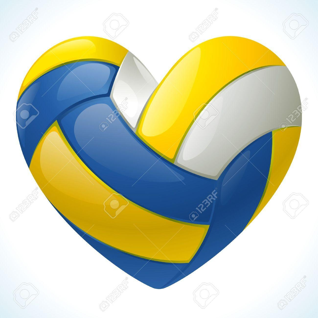 What color is the orgaginal volleyball?