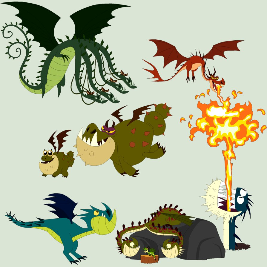 What dragon would you train?