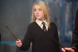 Where did Harry first meet Luna Lovegood(according to the book!)