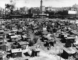 What was the name of the city of shacks that America's poorest lived in?