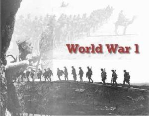 When was world war 1 ended ?