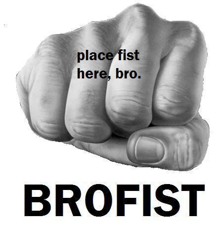 How many hands do you brofist with?