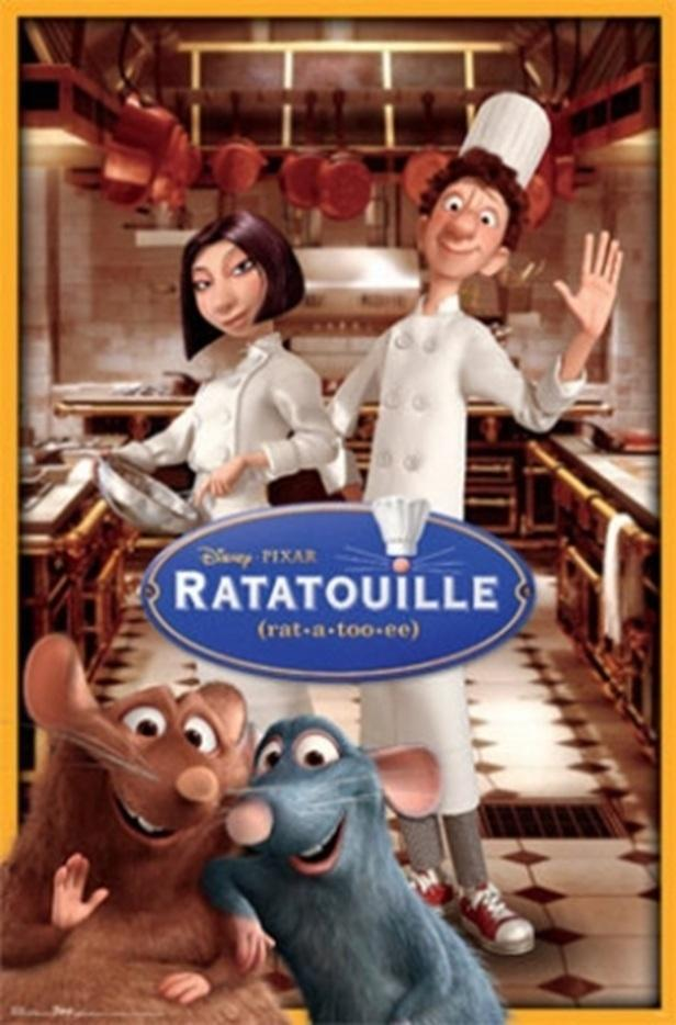 "In ""Ratatouille"", where does all the scenes take place ?"