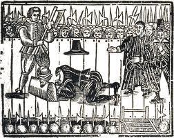 Charles I (In command of the Royalist forces) was beheaded on order of Oliver Cromwell (leader of Parliamentarian forces). What were his last words?
