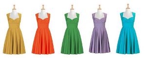 What colour do you want your Yule ball dress to be?