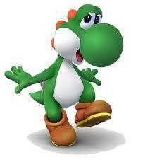 When Yoshi eats enemies what do they turn into