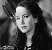 What flower/root gives katniss hope